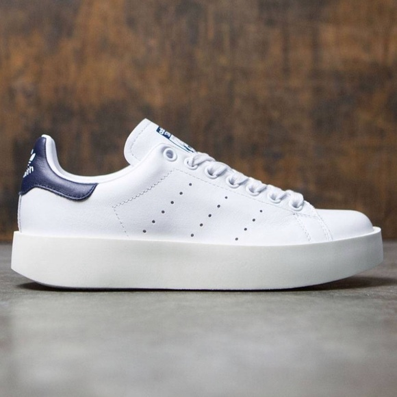 Stan Smith Bold Originals Shoe: Collegiate Blue